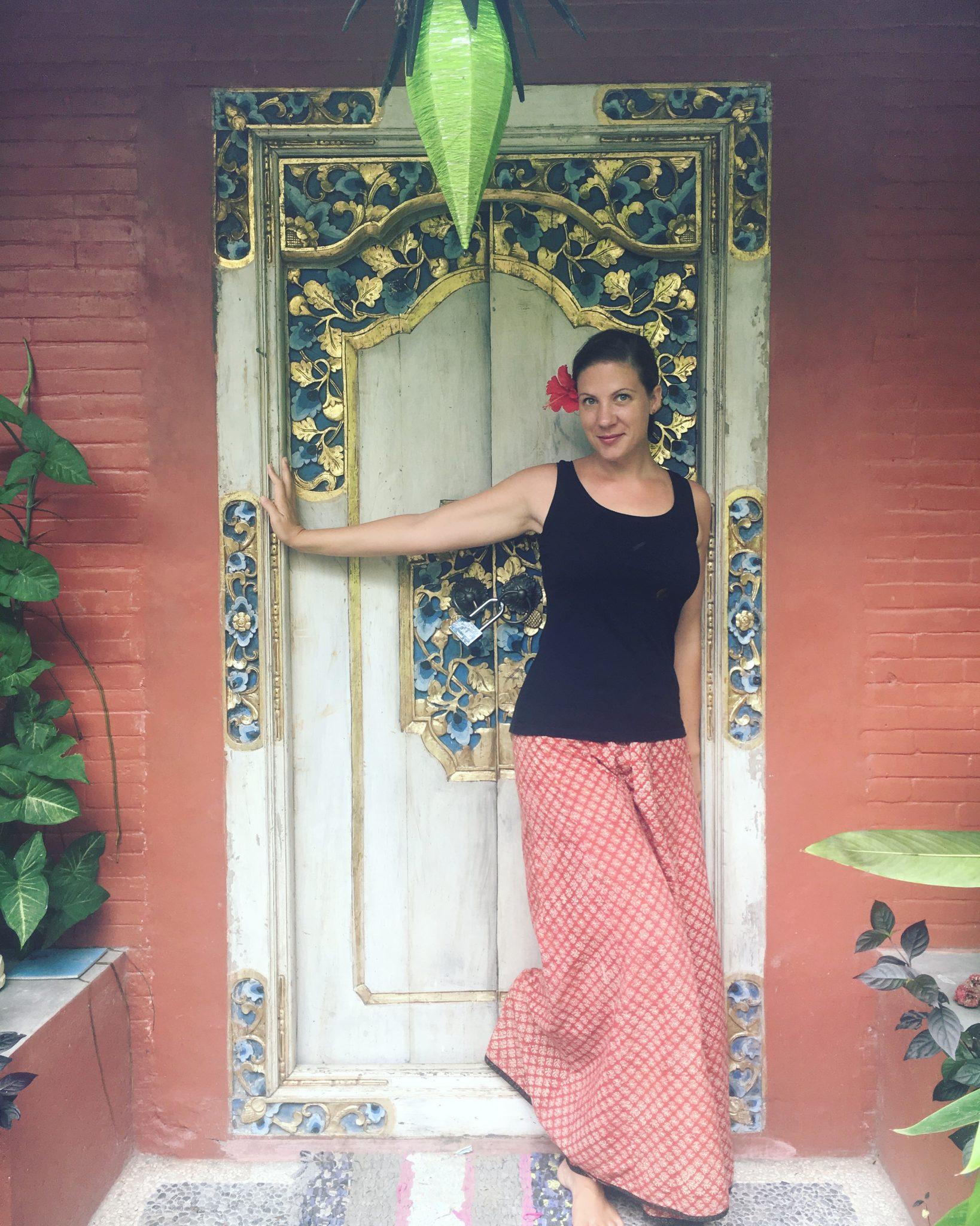 Julia von Trippingtribe auf Bali