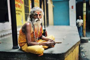Indien Sadhu