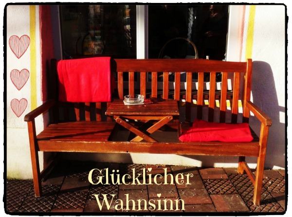 Alltag - romantische Bank in Wasserburg