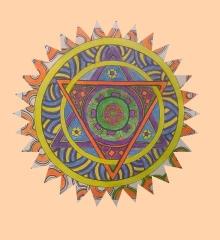 Mandala Dreieck Titel