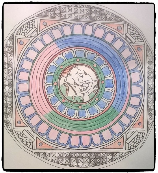 Mein Mandala Geschenk Für Euch Zum Wochenende Trippingtribe