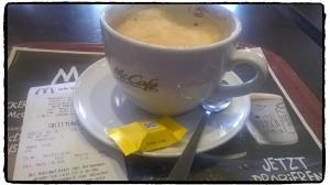 Mein erster Kaffee des Tages