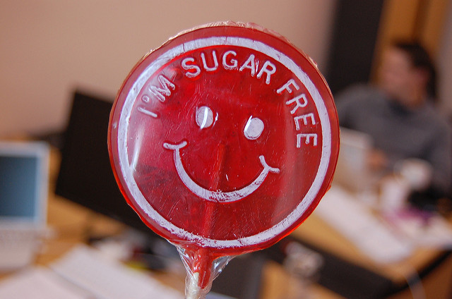 I am sugarfree - ich bin zuckerfrei