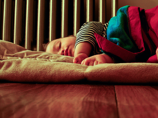 So schläft unser Kind