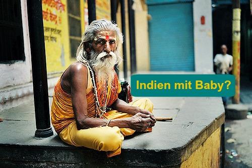 Indien mit Baby