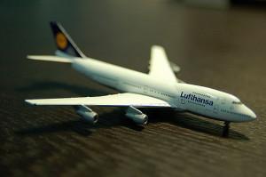 Lufthansa Modellflugzeug
