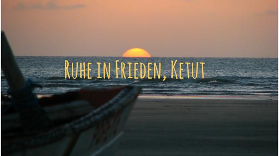 Ruhe in Frieden, Ketut – Titelbild