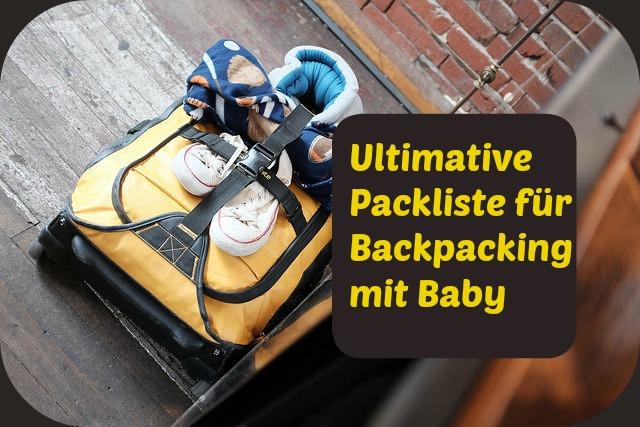 Titel Ultimative Packliste mit kleinem Trolli