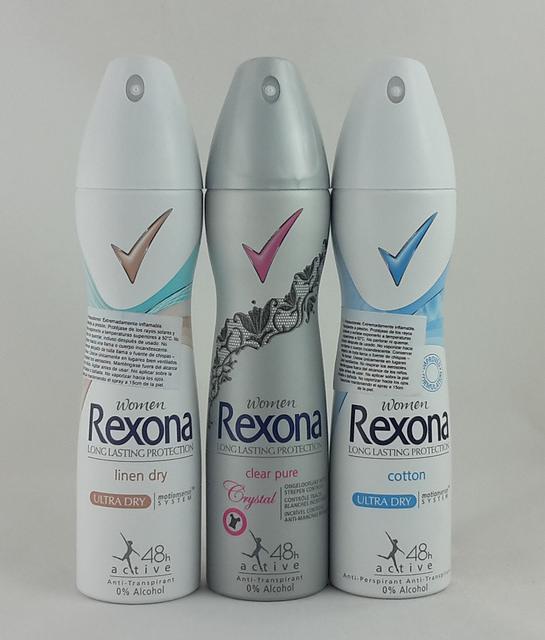 Deosprays von Rexona