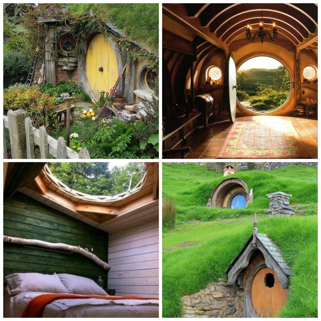 Hobbit Haus Collage