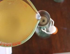 Kombucha - Abfüllung in eine hübsche Glasflasche