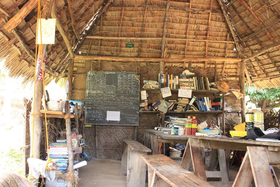 Classroom in the tropics