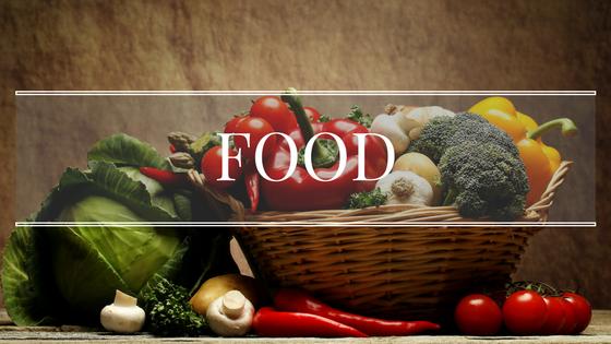 Food Bild mit Gemüsen in einem Korb