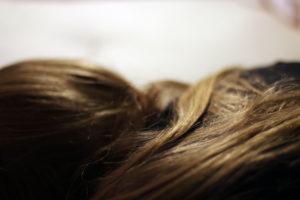 Schönes, kräftiges, gesundes Haar