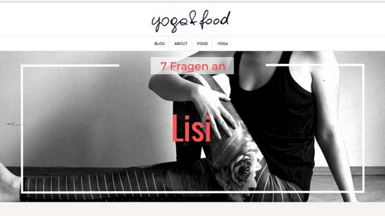 Titelbild 7 Fragen an Lisi von yoga-and-food.com
