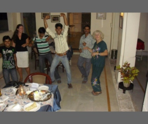 Geburtstagsparty in Bundi Indien