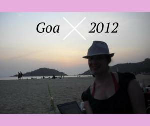 Palolem Strand in Goa 2012