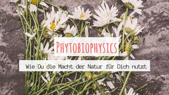 Phytobiophysics - wie Du die Macht der Natur für dich nutzt. Titelbild