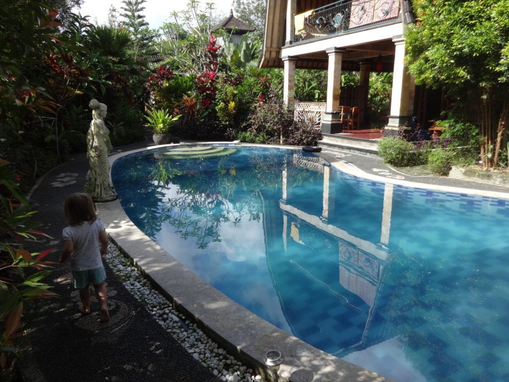 Pool von Villa Kita II auf Bali