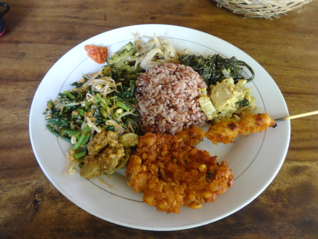 Nasi Campur in Prima Warung in Ubud