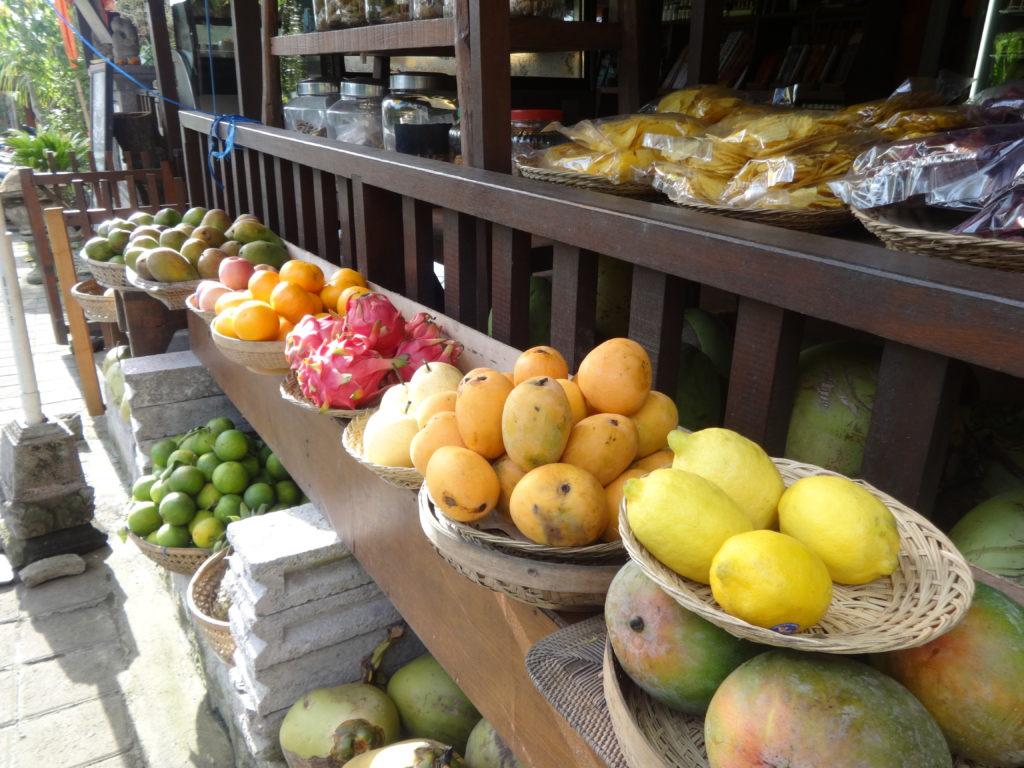 Früchte auf Bali