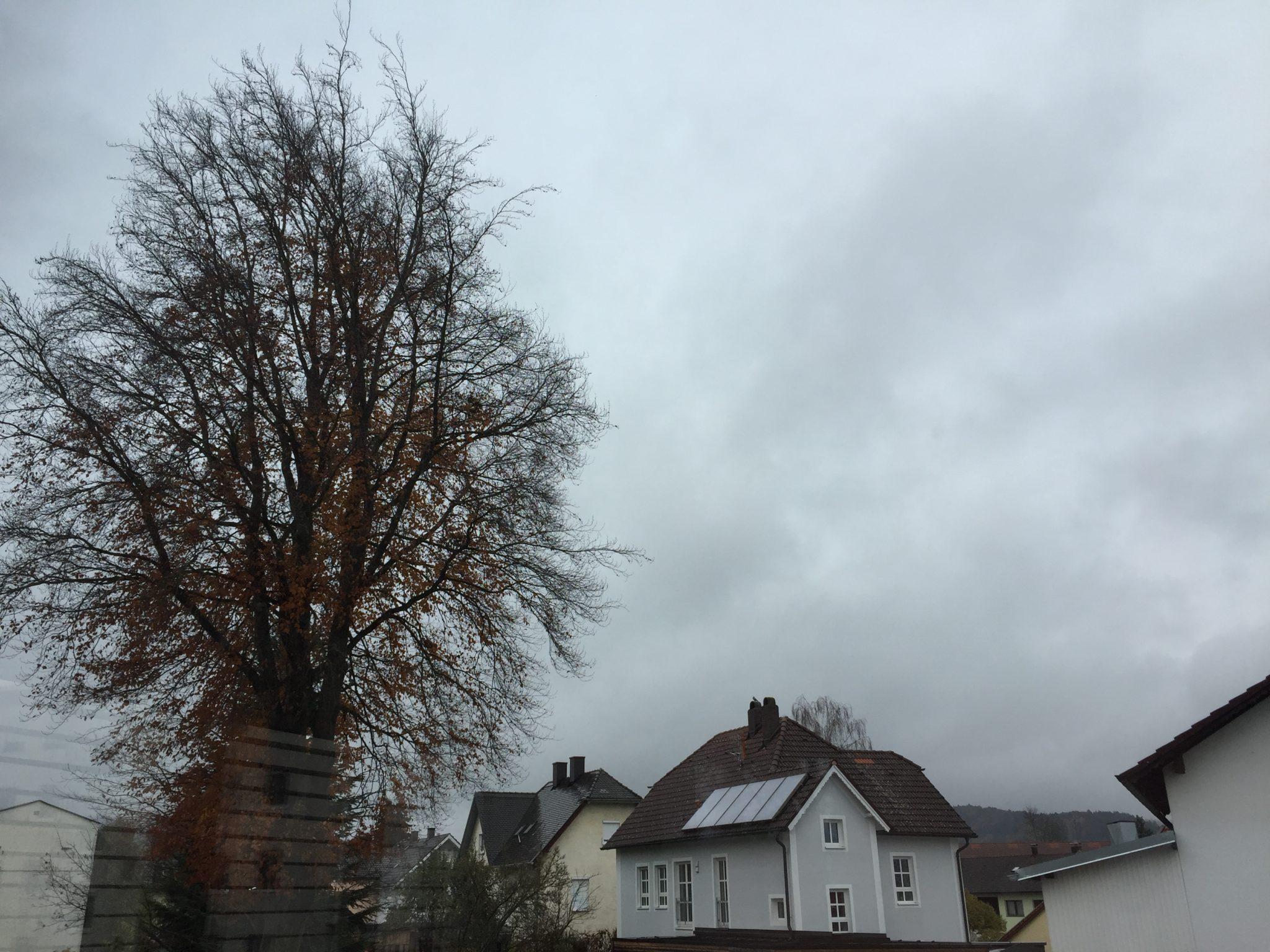 Himmel über Niederbayern