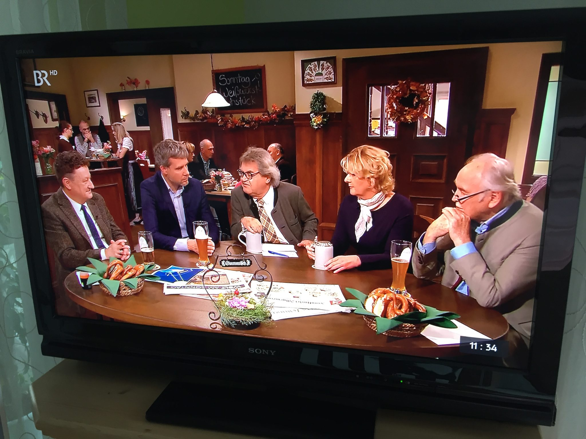 Politische Diskussion im Fernsehen
