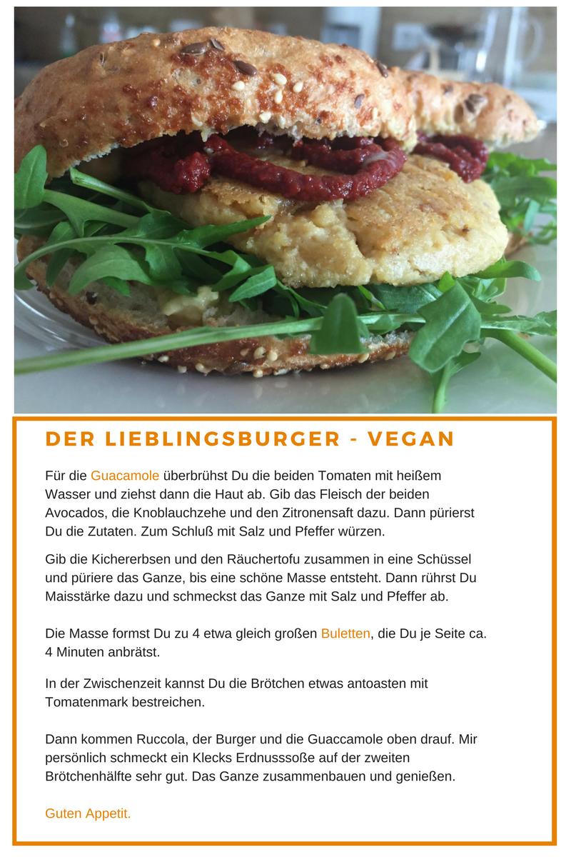 Rezept für den leckersten Burger der Welt