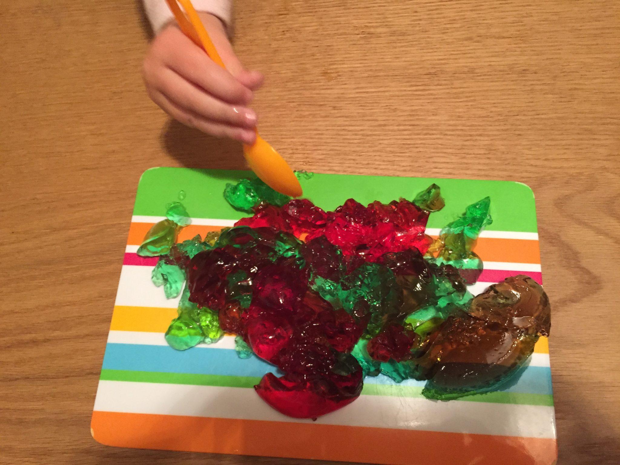 Mix aus Grün und Rot