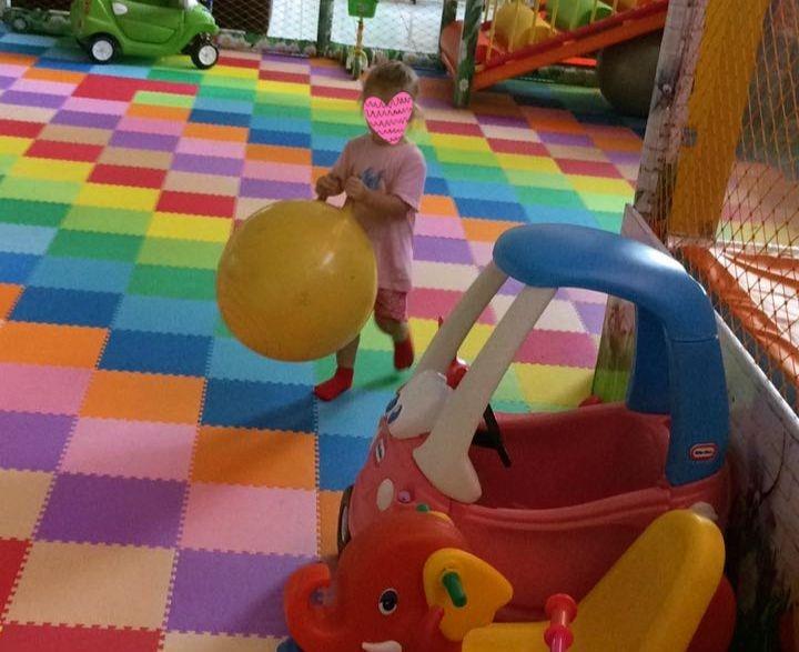 Hippo im Spieleparadies.