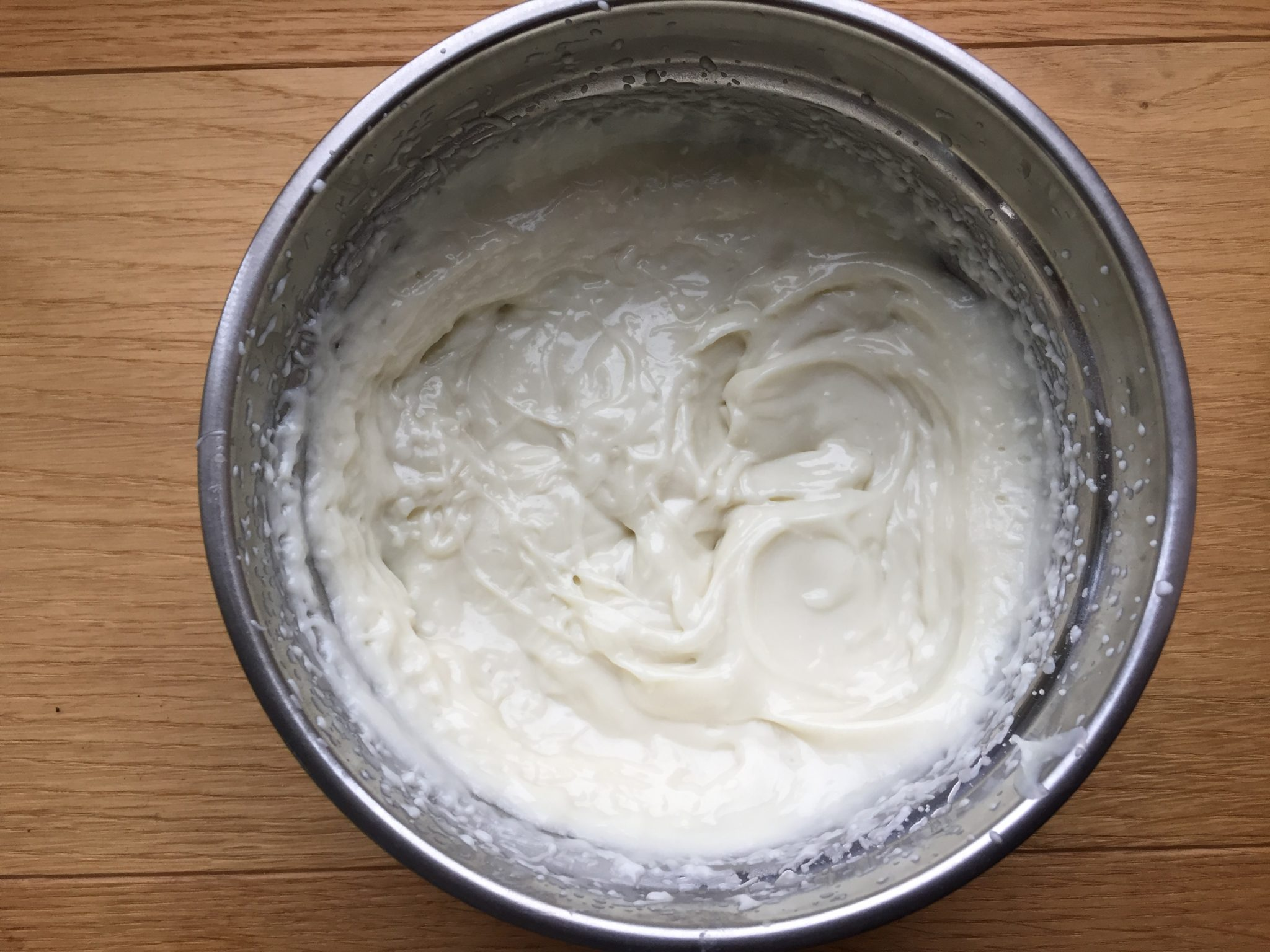 Bodybutter nach dem Mixen