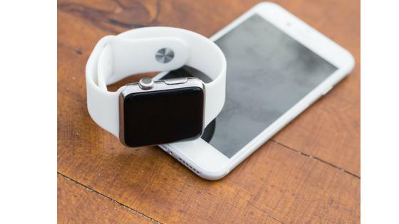 Smartwatch mit Smartphone